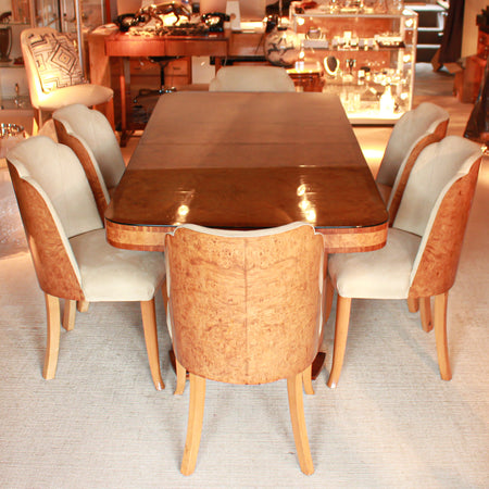Art Deco 10 Seat Dining Suite