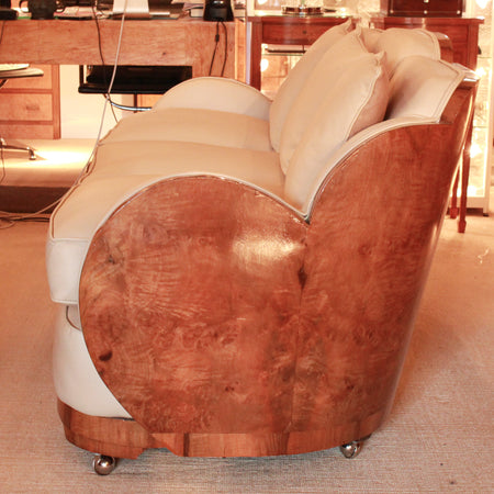Leather Elephant Footstools