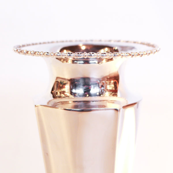Silver Plated Vase