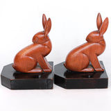 Rabbit Bookends