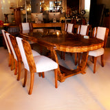 Art Deco 8 Seat Dining Suite