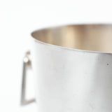 Silver plated ice bucket by Casino De Pourville, South of France at Jeroen Markies.