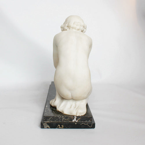 Art Deco marble sculpture