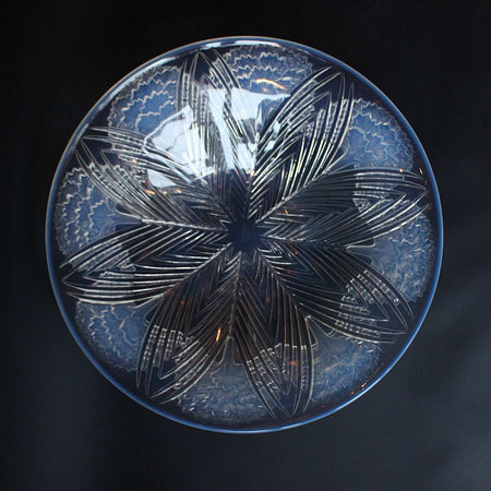 Curved Glass Dish