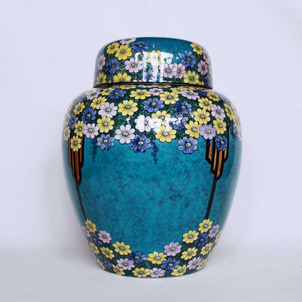 Thomas Forester & sons Phoenix chinaware ginger jar circa 1930 at Jeroen  Markies