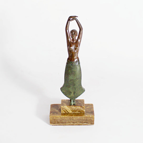 Art Deco Bronze Dancing Lady by Pierre Laurel Jeroen Markies Art Deco