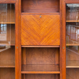 Pair of Secretaire Bookcases