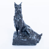 Bronze Scottie Dog