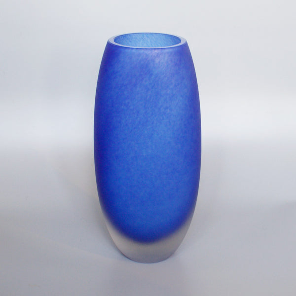 Barovier & Toso Frosted Glass Vase