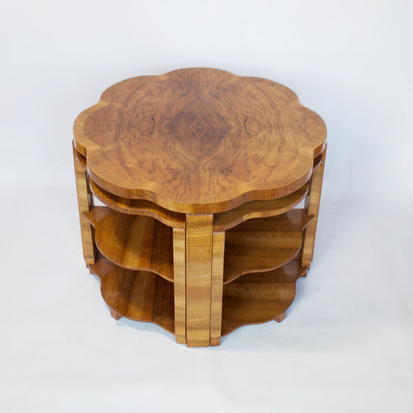 Harry & Lou Epstein Art Deco Nest of Tables  Jeroen Markies Art Deco