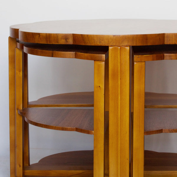 Art Deco Nest of Tables by Harry & Lou Epstein Jeroen Markies Art Deco