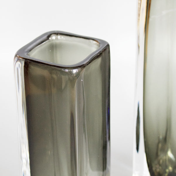 Pair of Glass Vases