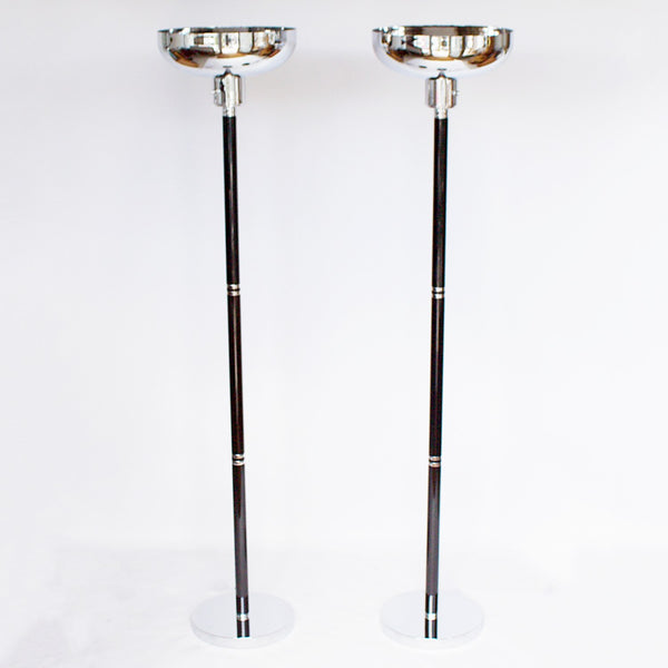Pair of Uplighter Floor Lamps