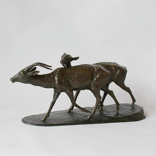 Rochard Art Deco antelope
