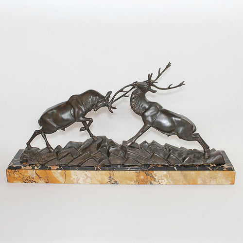 Art Deco Rochard animal sculpture