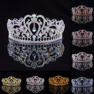 Bride Rhinestone Crystal Wedding Tiara Crown - My Gift Box
