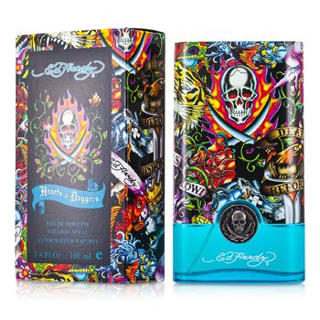 Ed Hardy Hearts & Daggers Eau De Toilette Spray 100ml - My Gift Box