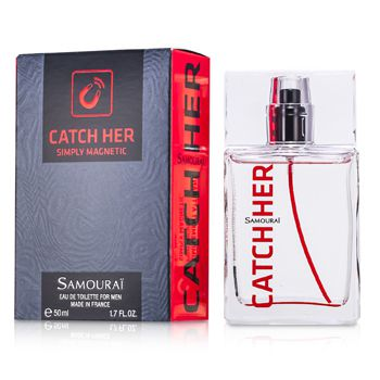 Samourai Catch Her Eau De Toilette Spray  50ml - My Gift Box