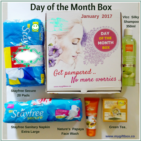 DAY OF THE MONTH BOX - My Gift Box