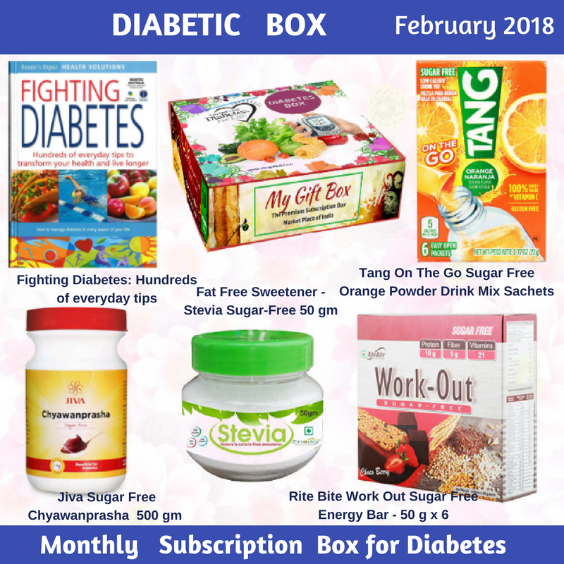 Diabetic box my gift box diabetic box my gift box negle Image collections