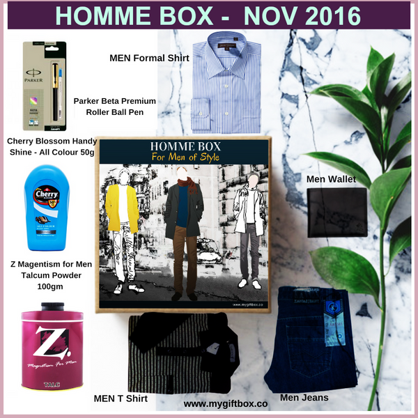 HOMME BOX - My Gift Box