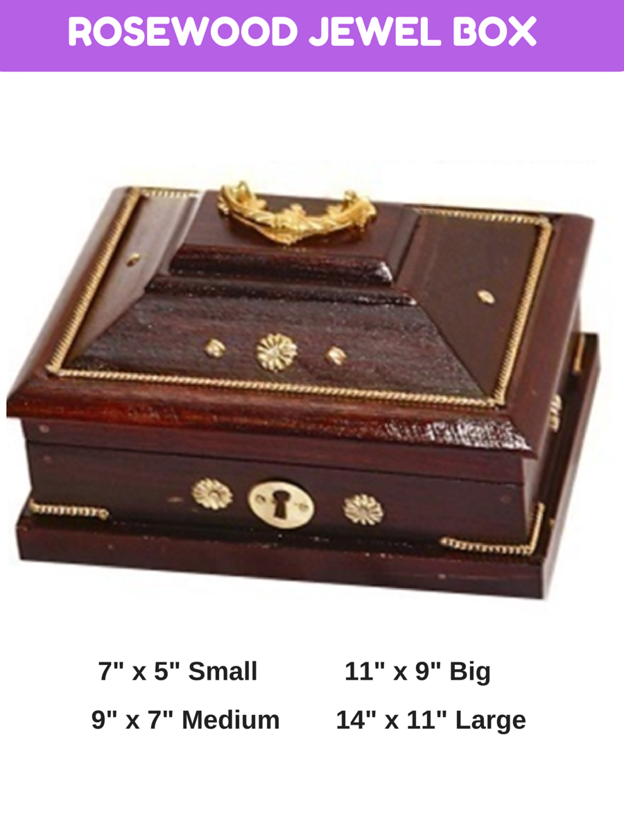 ROSEWOOD JEWEL BOX - My Gift Box