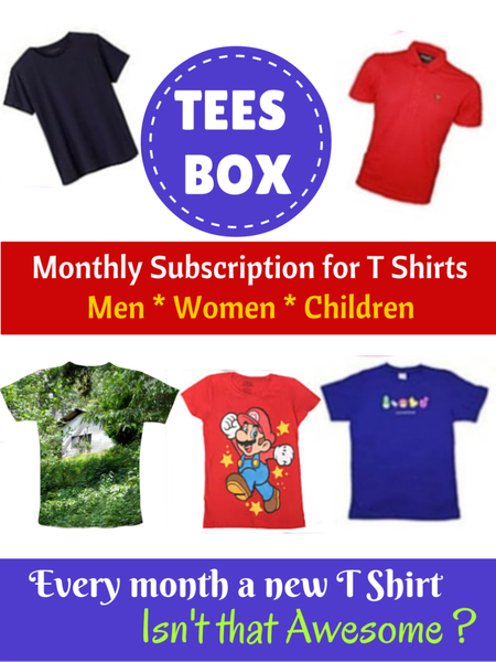 TEES BOX - My Gift Box