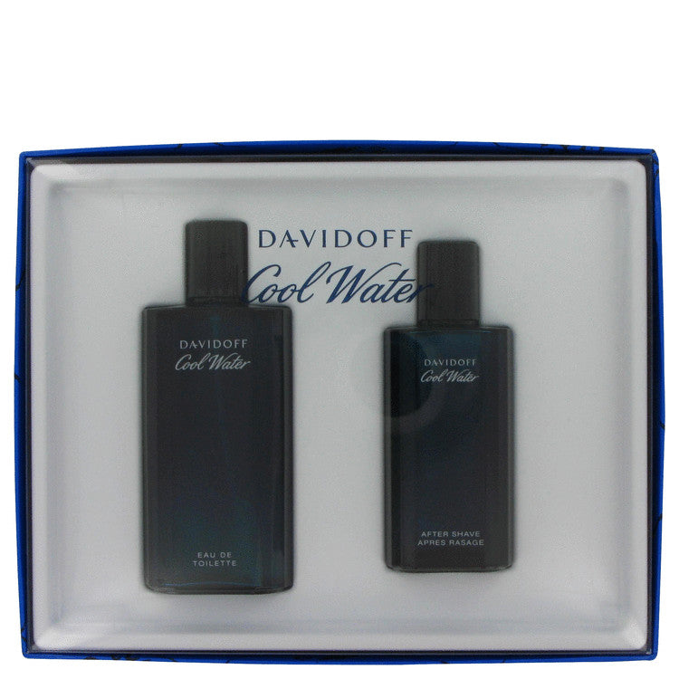 Davidoff Cool Water Gift Set - Eau De Toilette Spray 125 ml+ After Shave Splash 75 ml - My Gift Box