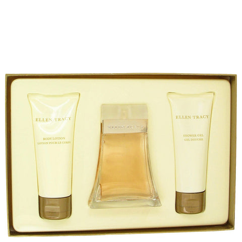 Ellen Tracy Gift Set - Eau De Parfum Spray + Body Lotion + Shower Gel - My Gift Box