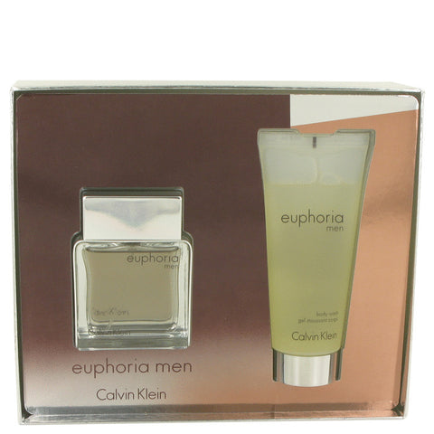 Calvin Klein Euphoria  Gift Set  - Eau De Toilette Spray 50ml + Shower Gel 100ml - My Gift Box