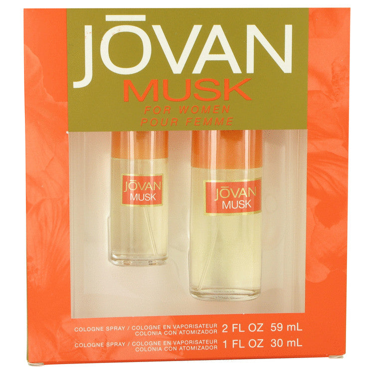 Jovan Musk Gift Set - Cologne Spray 60ml + Cologne Spray 30ml - My Gift Box