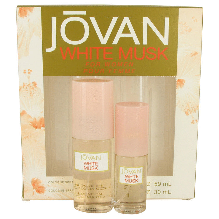 Jovan White Musk Gift Set - Cologne Spray 60ml + Cologne Spray 30ml - My Gift Box