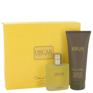 Oscar De La Renta Gift Set -Eau De Toilette Spray 100 ml +Hair & Body Wash 200 ml - My Gift Box