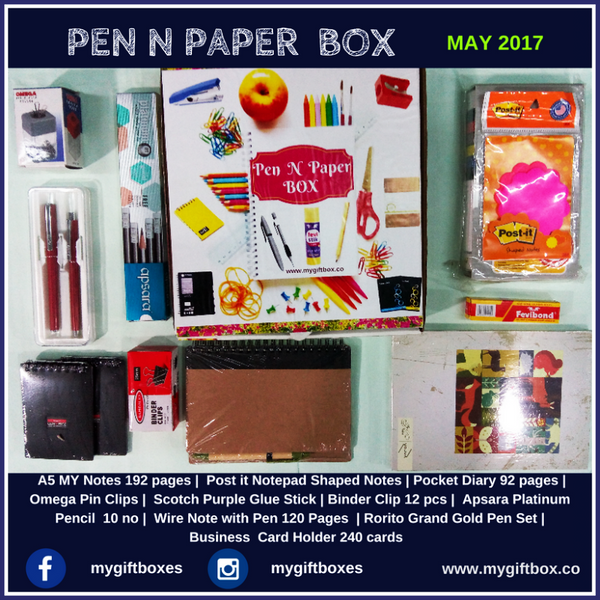 PEN N PAPER BOX - My Gift Box