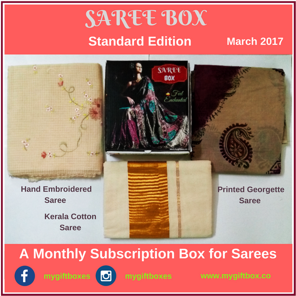 SAREE BOX - My Gift Box