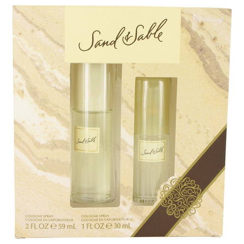 Coty Sand & Sable Gift Set -Cologne Spray 60ml + Cologne Spray 30ml - My Gift Box