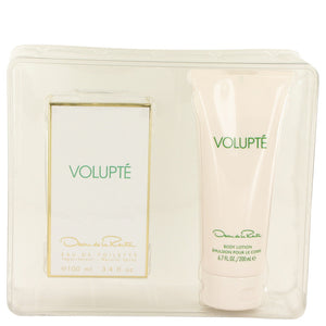 Oscar De La Renta  Volupte Gift Set -Eau De Toilette Spray 100ml + Body Lotion 200ml - My Gift Box