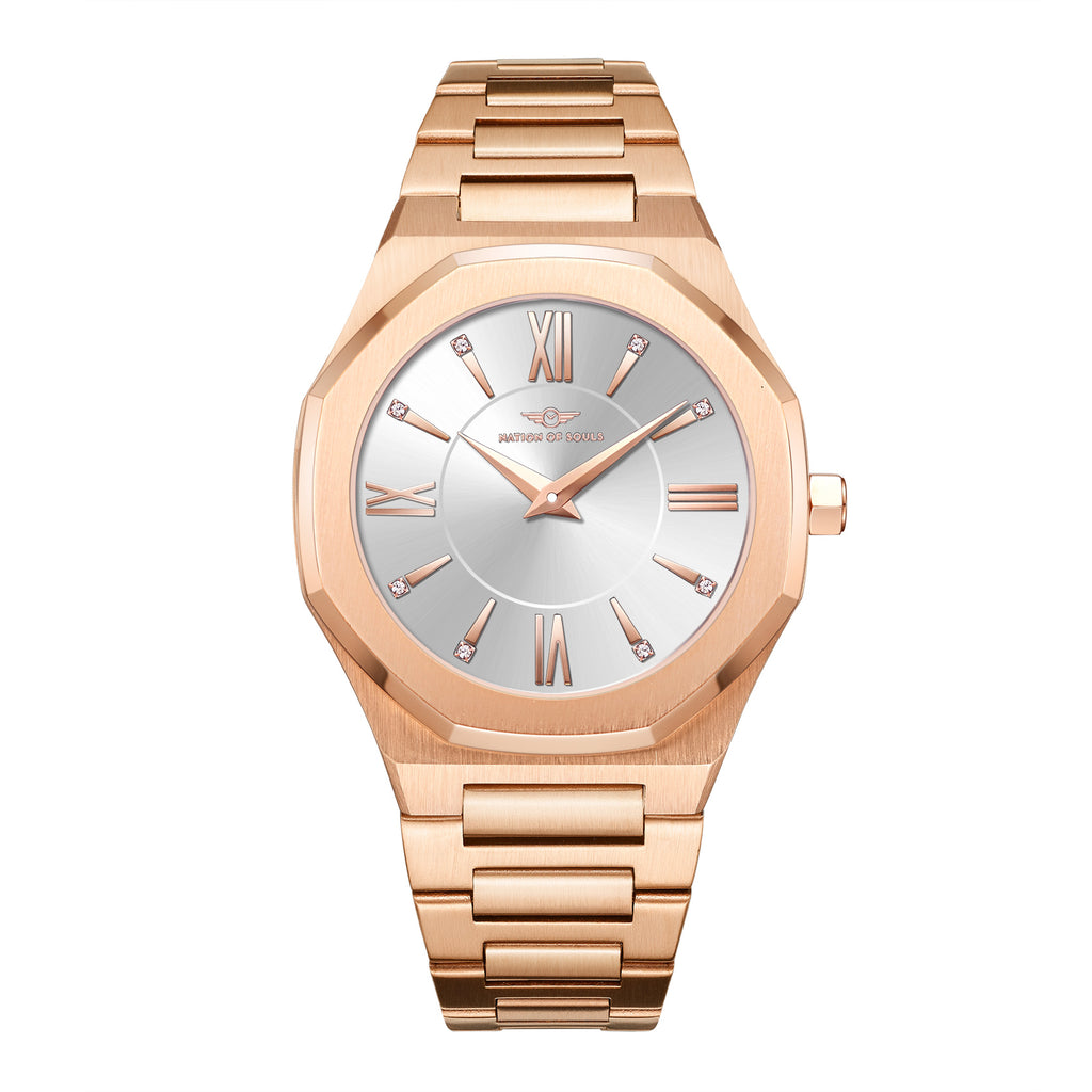 Livia | Rose Gold - Silver
