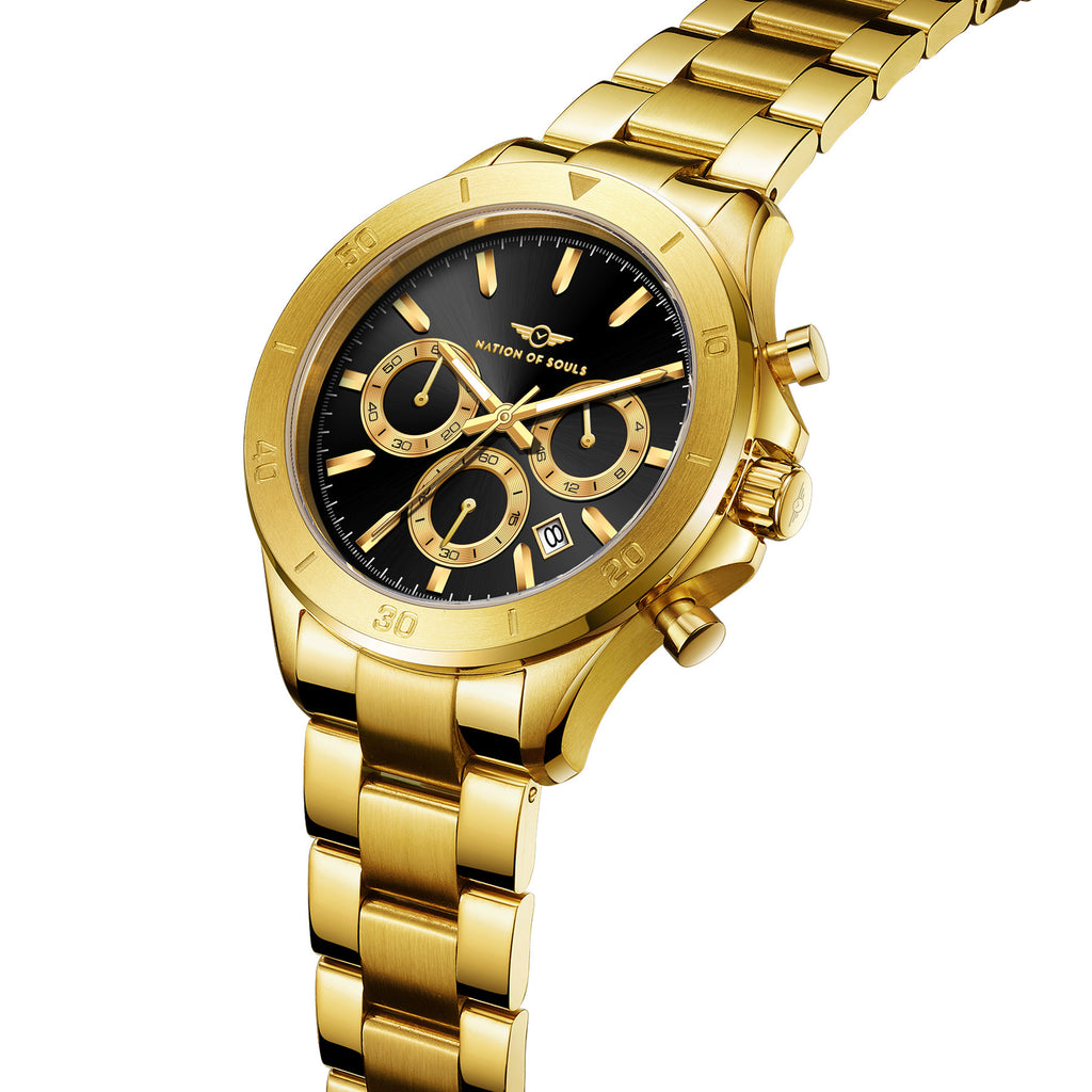 Chronograph One | Gold - Black