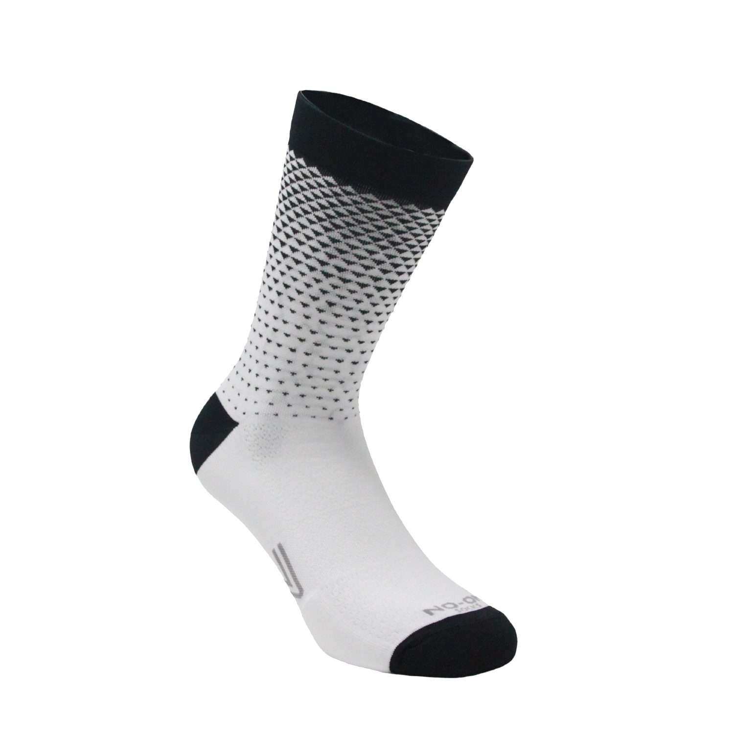 Fall - NO-ON socks - calza tecnica bianco e nero