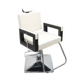 DOMPEL - Square Reclining Chair - Square Base