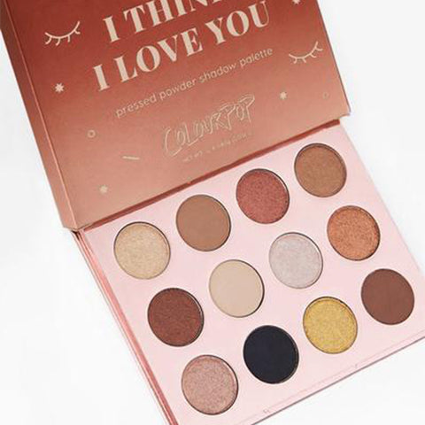 I Think I Love You Pressed Powder Shadow Palette