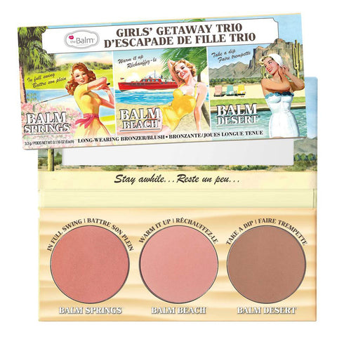 Girls Getaway Trip Long-Wearing Bronzer & Blush