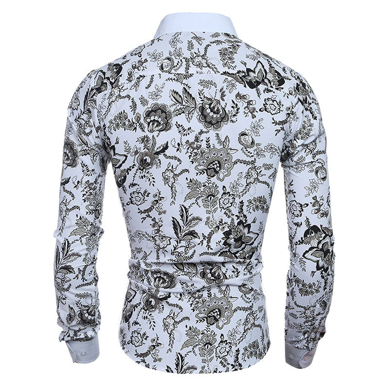 Noble Floral Fitted Shirt