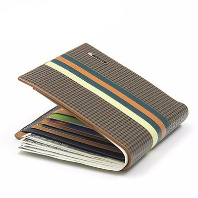 Bogesi Stripe Men's Wallet - Versus Club Men's Clothing