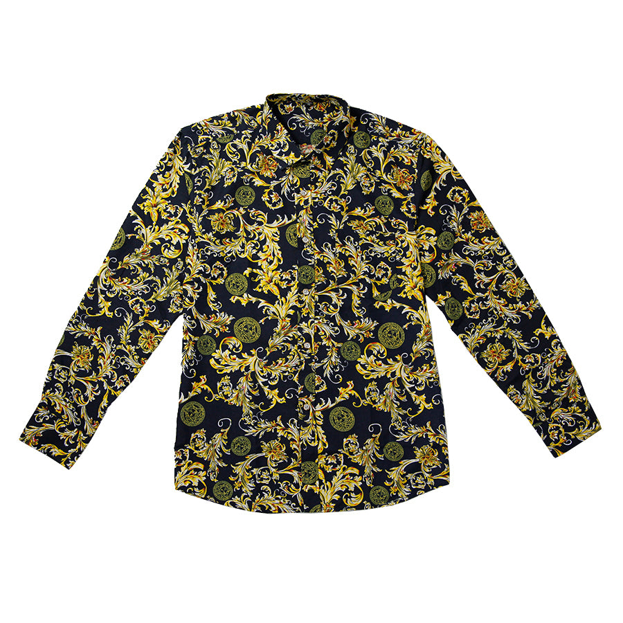 Gold Sumptuous Tranquility Men Shirt