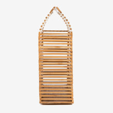 Load image into Gallery viewer, Bamboo Bag for Women Handmade Shoulder Caged Bag