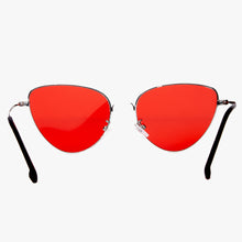 Load image into Gallery viewer, Angular Cat Eye Red Lens Sunglasses - Accessory O