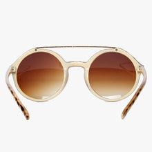 Load image into Gallery viewer, Beige Tortoiseshell Retro Sunglasses with Brown Lens - Accessory O
