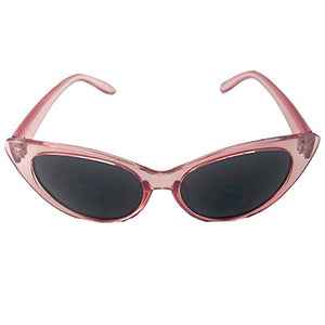 Flat Slim Vintage Designer Cat Eye Sunglasses